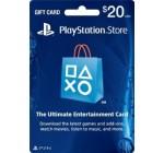 PSN Card US $20 – Playstation Network Card