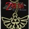 Zelda Metal Triforce Symbol Key Chain