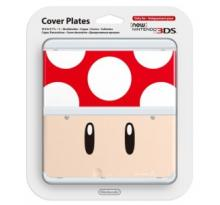 3DS Cover Plate – Red Mushroom