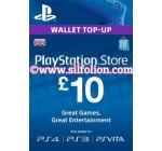 PSN Card UK £10 – Playstation Network Card