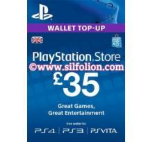PSN Card UK £35 – Playstation Network Card