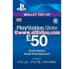 PSN Card UK £50 – Playstation Network Card