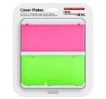 3DS Cover Plate – Clear Red & Green