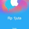 iTunes Rp 1 juta