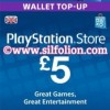 PSN Card UK £5 – Playstation Network Card