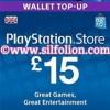 PSN Card UK £15 – Playstation Network Card