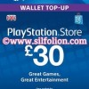 PSN Card UK £30 – Playstation Network Card