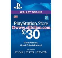 PSN Card UK £30 – Playstation Network Card