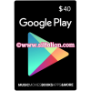 Google Play Gift Card $40