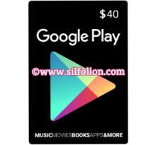 Google Play Gift Card $40