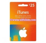 iTunes $25 Region US