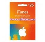 iTunes $25 Region US