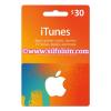 iTunes $30 Region US