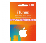iTunes $30 Region US