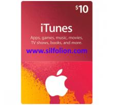iTunes $10 Region US