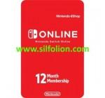 Nintendo Online Service 12 Bulan Membership