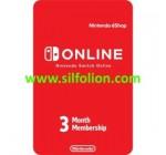 Nintendo Online Service 3 Bulan Membership