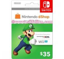 Nintendo eShop $35
