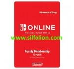 Nintendo Online Service 12 Bulan Membership – Family Membership