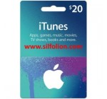 iTunes $20 Region US