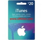 iTunes $20 Region US
