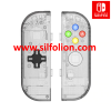 Nintendo Switch Joy Con Body Shell Replacement and D Pad – Clear