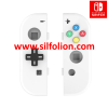 Nintendo Switch Joy Con Body Shell Replacement and D Pad – Putih