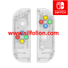 Nintendo Switch Joy Con Body Shell Replacement and Button