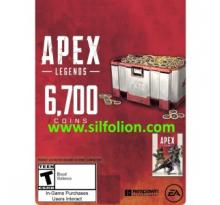 Apex Legends 6700 Apex Coin Origin