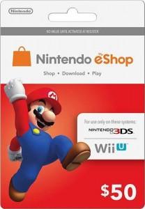 Nintendo eShop $50