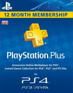 UK PS Plus 12 Bulan