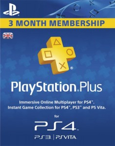UK PS Plus 3 Bulan