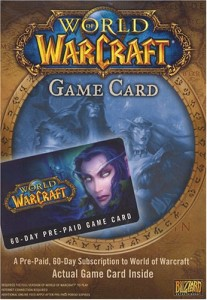 WOW time card