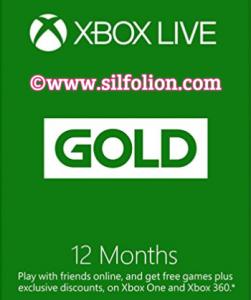 Xbox live 12 bulan