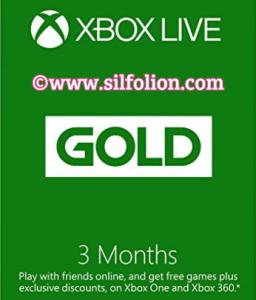 Xbox live 3 bulan