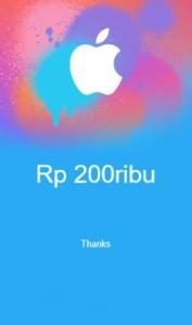 iTunes 200rb