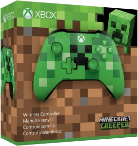xbox one controller minecraft creeper