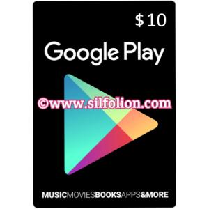 google gift card $10