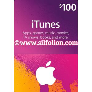 itunes $100