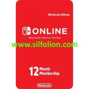Nintendo Online 12 bulan