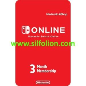 Nintendo Online 3 bulan