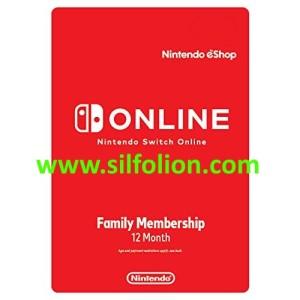 Nintendo online family 12 bulan